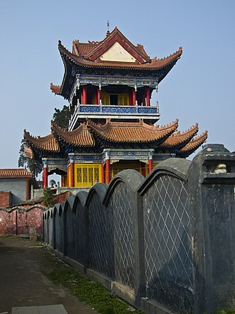 Hanzhong - Taoist temple in Hanzhong City