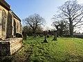-2020-02-07 Churchyard, Saint Nicholas Church, Swafield (1).JPG