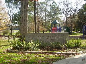 Idylwood, Houston - R. F. Bob Spurlock Park