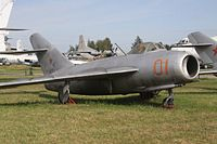 01 Red Mikoyan Mig-17 Russian Air Force (7985665107).jpg