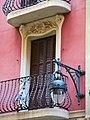 037 Cases Antoni Par, c. Gran de Gràcia 262-264 (Barcelona), balcó i fanal.jpg