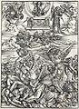 09. Albrecht Dürer, Apokalypsa, VII. Čtyři andělé spravedlnosti z Eufratu, Národní galerie v Praze.jpg