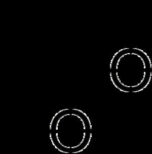Dioxetane - Image: 1,2 dioxetane