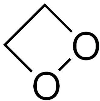 1,2-Dioxetane - Image: 1,2 dioxetane