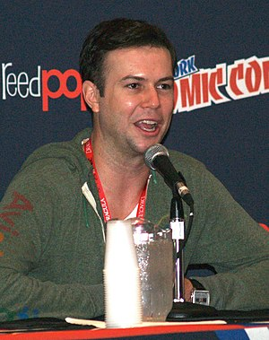 Taran Killam - Killam in a panel discussion at the 2013 New York Comic Con