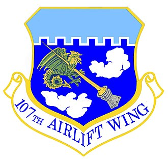 Niagara Falls Air Reserve Station - Image: 107th Airlift Wing