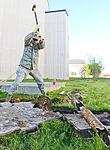 116th Civil Engineering Squadron repair drainage problem 130413-Z-XI378-002.jpg