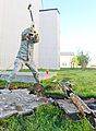 116th Civil Engineering Squadron repair drainage problem 130413-Z-XI378-002.jpg