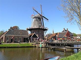 "Hunsingo - Windmill ""Hunsingo"" in Onderdendam, now a bed and breakfast"