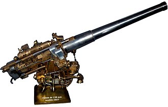 Canon de 138 mm Modèle 1927 - Image: 138 mm gun model 1ret