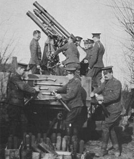 QF 13-pounder Mk IV AA gun Anti-aircraft gun