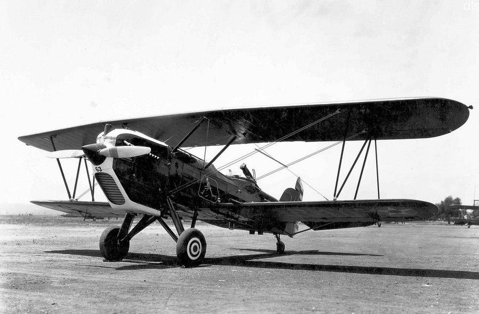 13th Attack Squadron Curtiss A-3B