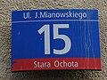 15, Mianowskiego Street in Warsaw - 01.JPG