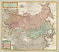 1730 map of Russia and Tartary by Johann Matthias Hase.jpg