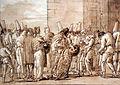 1797 Tiepolo Pulcinellas Vater führt seine Braut nach Hause anagoria.JPG