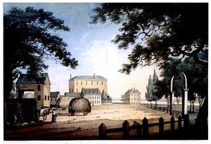 James Swan (financier) - Image: 1798 Tremont St Boston by A Robertson Simons UPNE