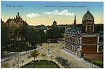 18139-Freiberg-1914-Blick über den Postplatz nach dem Donathsturm-Brück & Sohn Kunstverlag.jpg
