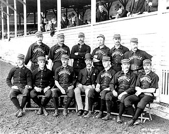 1888 Louisville Colonels season - Team photograph
