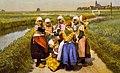 1890, Dutch children, Holland LCCN93500001 (cropped).jpg