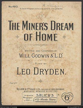 Leo Dryden - 1890 Sheet music