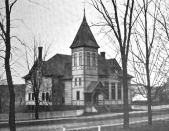 Brimfield, Massachusetts - Brimfield Town Hall, 1899