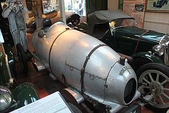 Wolseley Racing - Moth on display at Brooklands