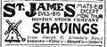 1922 StJames theatre BostonGlobe Dec1.png