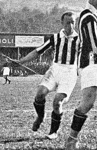 1925–26 Prima Divisione - Bologna v Juventus (Northern League Finals, 1st Leg) - József Viola (cropped).jpg