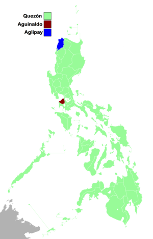 1935 Philippine presidential election results per province.png