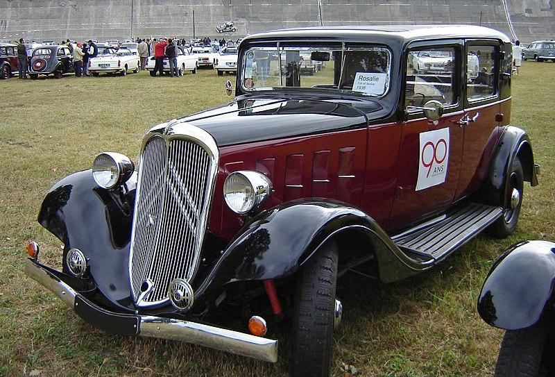 File:1936 Citroën Rosalie 7UA MI front.jpg