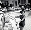 1954 Posing at a Florida Swimming Pool.jpg