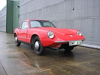 Saab Sonett - 1966 two-stroke Sonett II