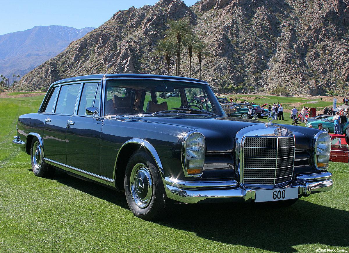 Mercedes benz w100 for Mercedes benz 600 series