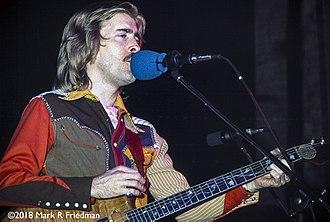 """John Dawson (musician) - John """"Marmaduke"""" Dawson in 1973"""
