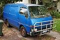 1985 Holden Shuttle (WFR) 1.8 SWB van (2016-01-04).jpg