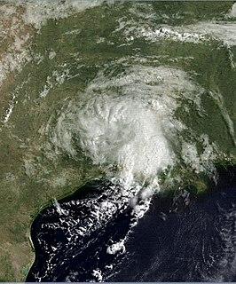 1987 Gulf Coast tropical storm Atlantic tropical storm in 1987