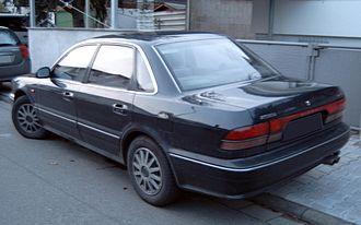 Mitsubishi Diamante - 1991–1996 Mitsubishi Sigma sedan (Europe)