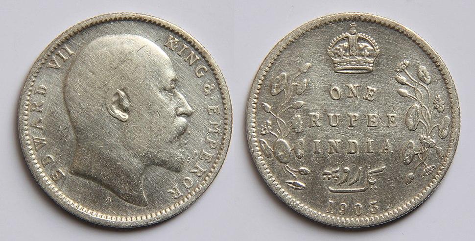 1 Indian rupee (1905)