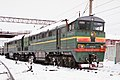 2ТЭ116-427, Russia, Saratov region, Saratov depot (Trainpix 185386).jpg