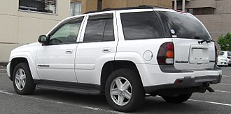 Chevrolet TrailBlazer - 2002–2005 Chevrolet TrailBlazer, with modification to meet Japanese standards.
