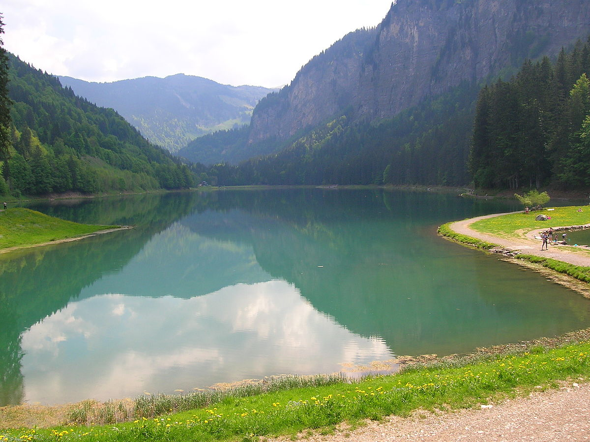 lac de montriond wikip dia. Black Bedroom Furniture Sets. Home Design Ideas