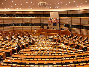Institutional seats of the European Union - Parliament built a hemicycle in Brussels to be closer to the other institutions