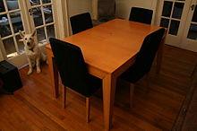 Expandable Kitchen Table