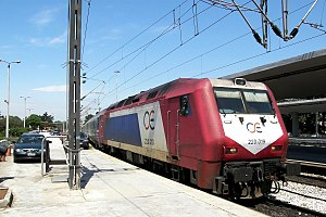 Greece: ADtranz DE2000 diesel locomotive of OS...