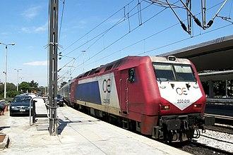 Adtranz -  Adtranz DE2000 locomotive for Hellenic Railways Organization