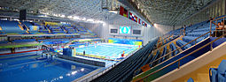2008 Olympic Sports Center Yingdong Natatorium Indoor.JPG