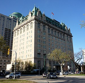 Fort Garry Hotel - Fort Garry Hotel today
