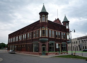 National Register of Historic Places listings in Marinette County, Wisconsin - Image: 2009 0619 Marinette Dunlap Square