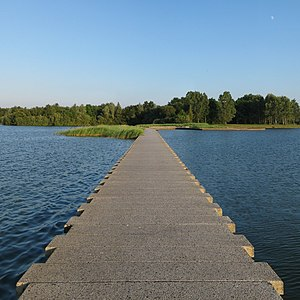 Dam - A small dam near Groningen, Netherlands
