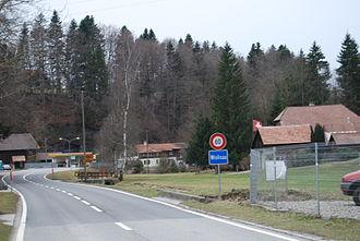 Rüeggisberg - Wislisau hamlet in Rüeggisberg